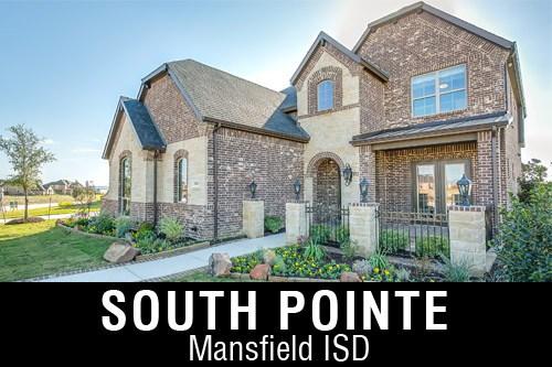 south pointe, mansfield, new community, homes for sale, custom home builder, jon houston custom homes