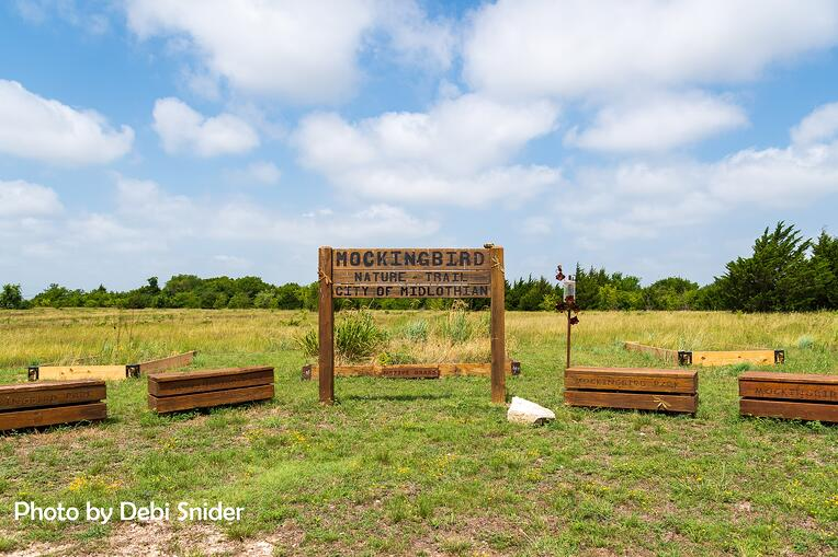 Debi Snider Mockingbird Trail Sign