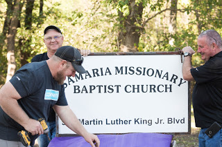 Samaria Baptist Church Extreme Makeover Project