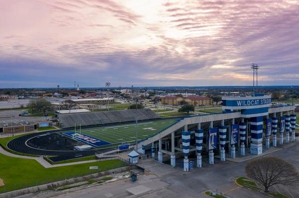 Jan21 Temple Wildcat Stadium (1)
