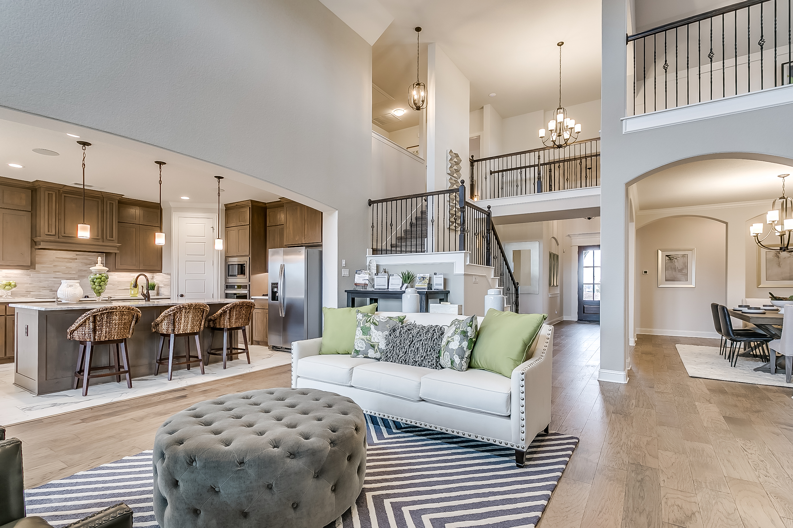 Estates at North Grove, Waxahachie, new homes for sale, waxahachie home builder, ellis county, model home, 3d gallery, 3d home tour, model home photos, open living loft