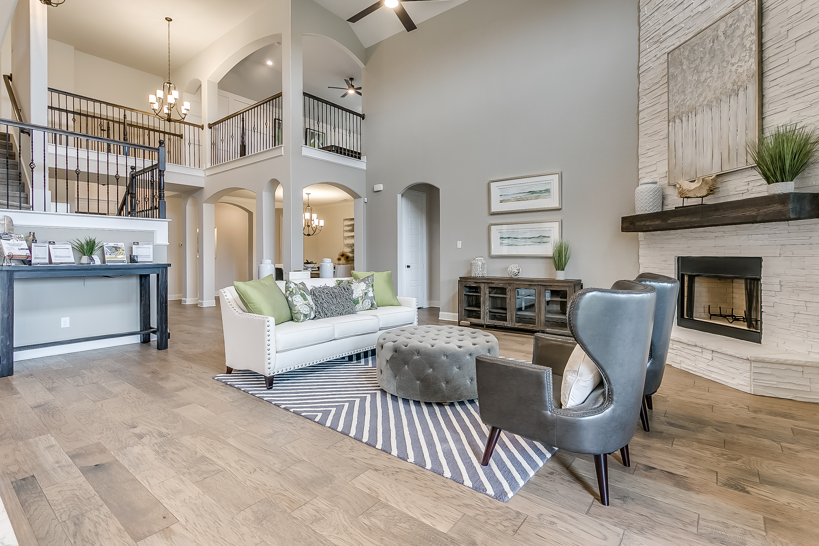 Estates at North Grove, Waxahachie, new homes for sale, waxahachie home builder, ellis county, model home, 3d gallery, 3d home tour, model home photos, living room
