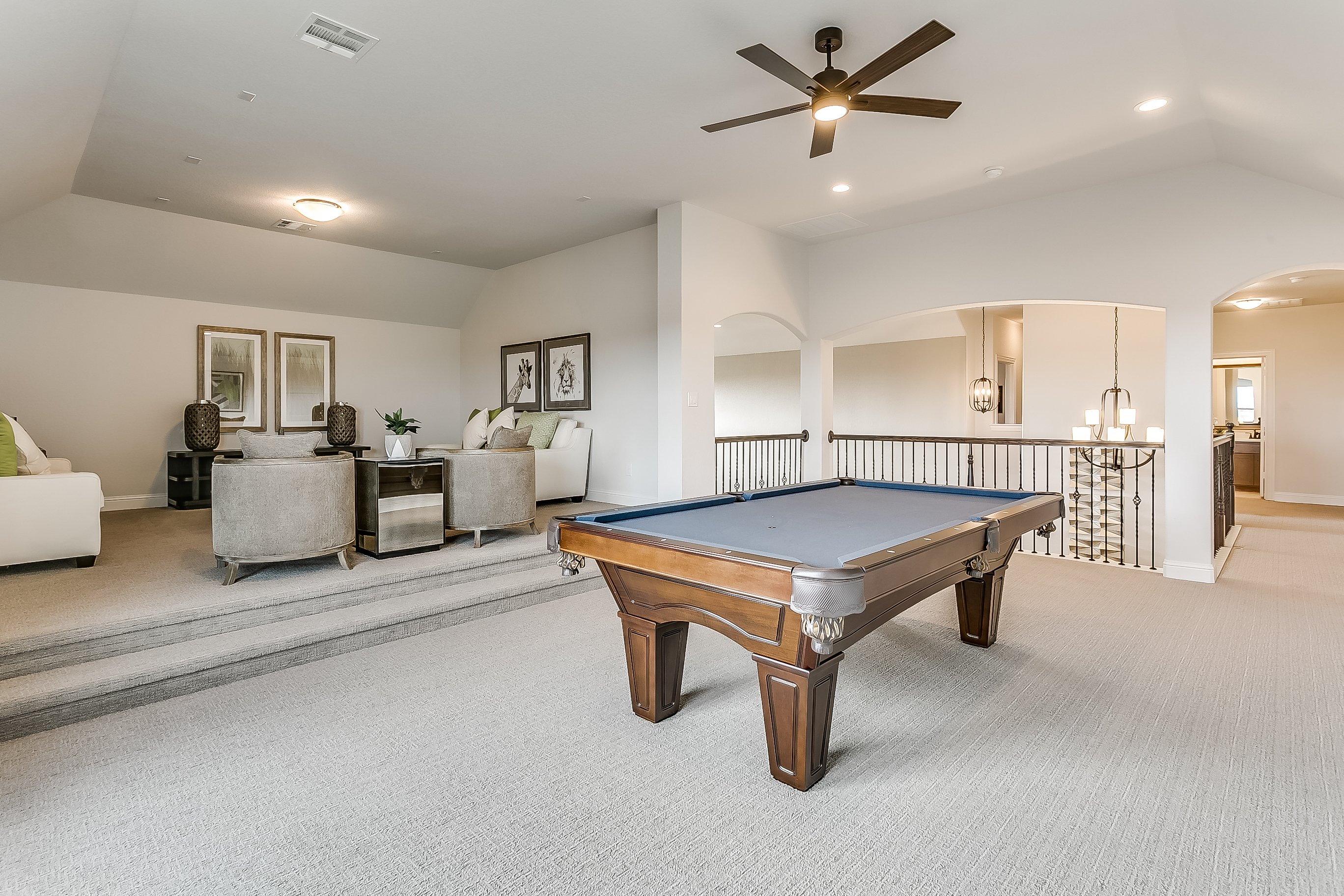 Estates at North Grove, Waxahachie, new homes for sale, waxahachie home builder, ellis county, model home, 3d gallery, 3d home tour, model home photos, game room, media room