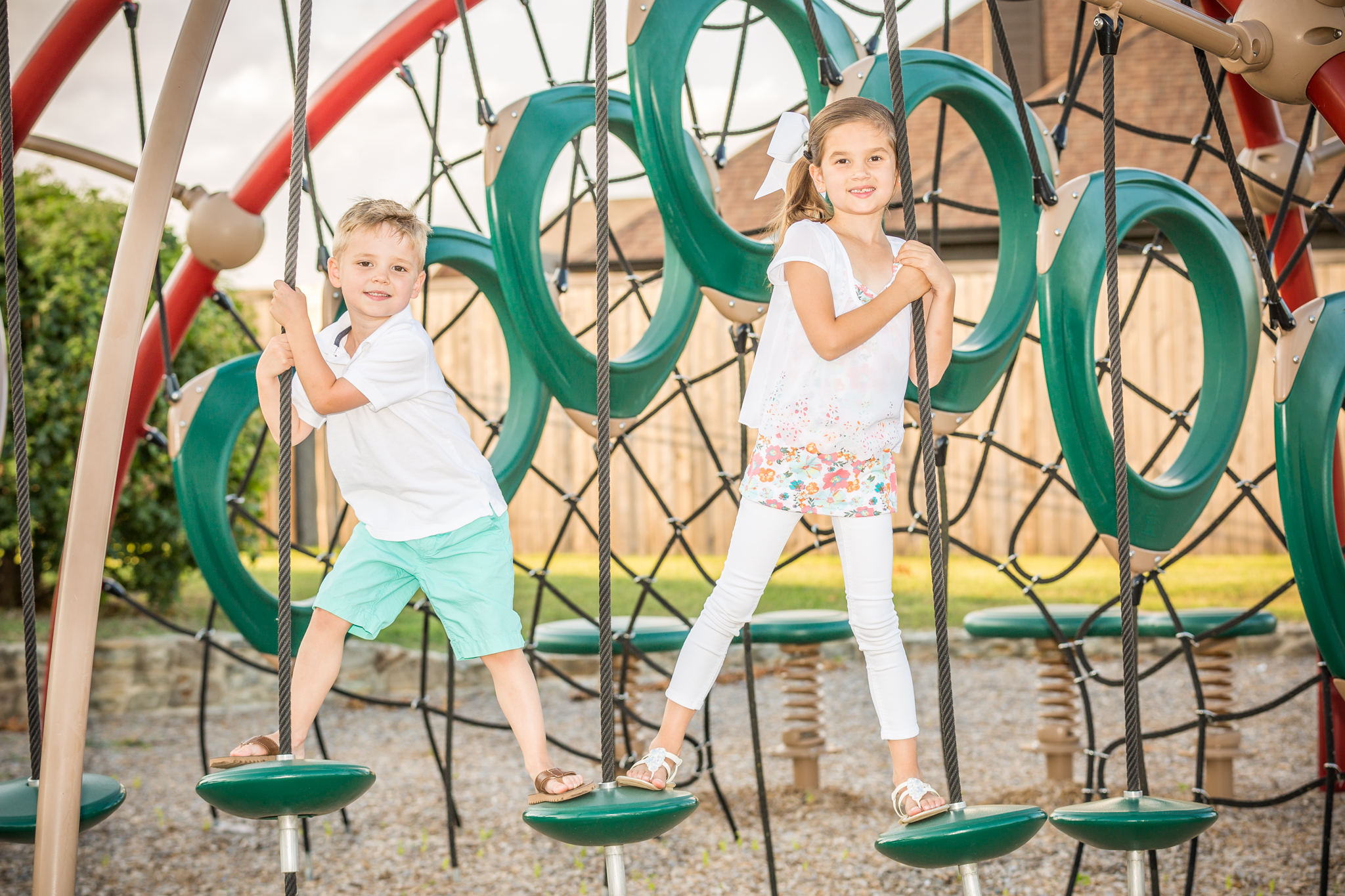 The Parks at Panchasarp Farms playground amenities pool walking trails John Houston Custom Homes